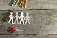 Γίνονται έγγραφο αριθμοί ανθρώπων Στοκ εικόνα με δικαίωμα ελεύθερης χρήσης