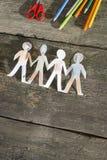 Γίνονται έγγραφο αριθμοί ανθρώπων Στοκ Φωτογραφίες