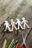 Γίνονται έγγραφο αριθμοί ανθρώπων Στοκ Φωτογραφία