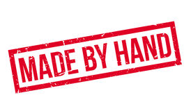 Γίνοντας με το χέρι τη σφραγίδα Στοκ φωτογραφίες με δικαίωμα ελεύθερης χρήσης