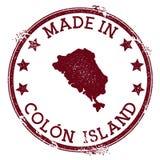 Γίνοντας στο γραμματόσημο νησιών άνω και κάτω τελειών απεικόνιση αποθεμάτων