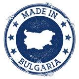 γίνοντας στο γραμματόσημο της Βουλγαρίας ελεύθερη απεικόνιση δικαιώματος