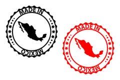 γίνοντας στο γραμματόσημο του Μεξικού απεικόνιση αποθεμάτων