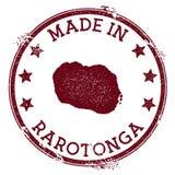 Γίνοντας στο γραμματόσημο Rarotonga ελεύθερη απεικόνιση δικαιώματος