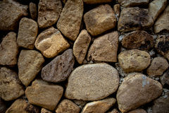 γίνοντα ανασκόπηση λευκό τοίχων σύστασης πετρών πετρών Στοκ Εικόνες