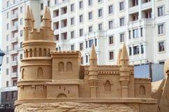 γίνοντα γλυπτά άμμου Στοκ φωτογραφία με δικαίωμα ελεύθερης χρήσης