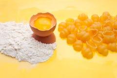 γίνοντα προϊόντα s ζυμαρικών που Στοκ Εικόνες