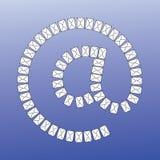 γίνοντα φάκελος σύμβολο Απεικόνιση αποθεμάτων