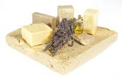 γίνοντα lavender σαπούνια χεριών Στοκ εικόνες με δικαίωμα ελεύθερης χρήσης