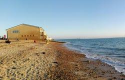 Γαλήνια παραλία στοκ φωτογραφίες με δικαίωμα ελεύθερης χρήσης