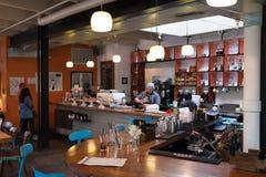 Γαλήνιος καφές San Antonio Τέξας στοκ εικόνες με δικαίωμα ελεύθερης χρήσης