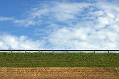γαλαζοπράσινος κίτρινο&sig Στοκ φωτογραφία με δικαίωμα ελεύθερης χρήσης