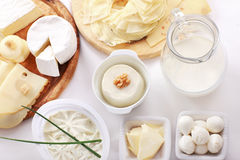 γαλακτοκομείο τυριών άλλα προϊόντα στοκ φωτογραφία με δικαίωμα ελεύθερης χρήσης