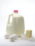 γαλακτοκομικά προϊόντα αυγών Στοκ εικόνα με δικαίωμα ελεύθερης χρήσης