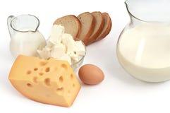 γαλακτοκομικά προϊόντα Στοκ εικόνα με δικαίωμα ελεύθερης χρήσης