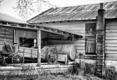 Γαλακτοκομικό αγρόκτημα Amish στοκ εικόνα