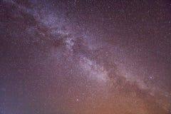 Γαλακτώδες υπόβαθρο γαλαξιών τρόπων Στοκ φωτογραφίες με δικαίωμα ελεύθερης χρήσης