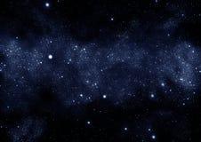 γαλακτώδης τρόπος starfield Στοκ Φωτογραφία