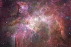 Γαλαξίας κάπου στο βαθύ διάστημα Ομορφιά του κόσμου στοκ εικόνες