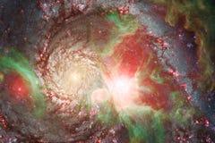 Γαλαξίας κάπου στο μακρινό διάστημα Στοιχεία αυτής της εικόνας που εφοδιάζεται από τη NASA στοκ εικόνα με δικαίωμα ελεύθερης χρήσης