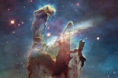 Γαλαξίας κάπου στο μακρινό διάστημα Στοιχεία αυτής της εικόνας που εφοδιάζεται από τη NASA στοκ εικόνες