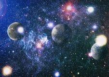 Γαλαξίας και νεφέλωμα abstract background space Στοιχεία αυτής της εικόνας που εφοδιάζεται από τη NASA Στοκ Εικόνα
