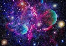 Γαλαξίας και νεφέλωμα abstract background space Στοιχεία αυτής της εικόνας που εφοδιάζεται από τη NASA Στοκ εικόνες με δικαίωμα ελεύθερης χρήσης