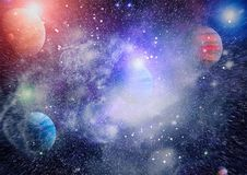 Γαλαξίας και νεφέλωμα abstract background space Στοιχεία αυτής της εικόνας που εφοδιάζεται από τη NASA Απεικόνιση αποθεμάτων