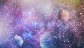 Γαλαξίας και νεφέλωμα abstract background space Στοιχεία αυτής της εικόνας που εφοδιάζεται από τη NASA Ελεύθερη απεικόνιση δικαιώματος