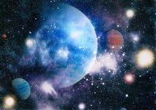 Γαλαξίας και νεφέλωμα abstract background space Στοιχεία αυτής της εικόνας που εφοδιάζεται από τη NASA Στοκ Φωτογραφίες