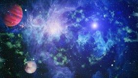 Γαλαξίας και νεφέλωμα abstract background space Στοιχεία αυτής της εικόνας που εφοδιάζεται από τη NASA Διανυσματική απεικόνιση