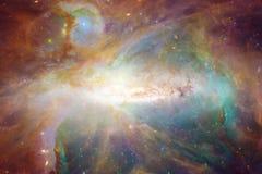Γαλαξίας στο μακρινό διάστημα, ομορφιά του κόσμου στοκ φωτογραφίες με δικαίωμα ελεύθερης χρήσης