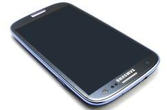 Γαλαξίας της Samsung S3 Στοκ εικόνα με δικαίωμα ελεύθερης χρήσης
