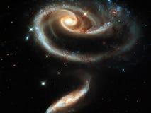 γαλαξίας andromeda Στοκ Φωτογραφία