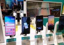 Γαλαξίας s10 της Samsung στοκ εικόνες