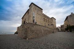 Γαλλία, Αντίμπες, το μουσείο του Πικάσο στοκ εικόνες