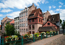 Γαλλία μικρό Στρασβούργ&omicron στοκ εικόνα με δικαίωμα ελεύθερης χρήσης