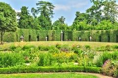 Γαλλία, το κτήμα της Marie Antoinette στο parc των Βερσαλλιών PA Στοκ εικόνα με δικαίωμα ελεύθερης χρήσης