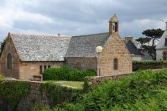 Γαλλία, το παρεκκλησι Αγίου Guirec Ploumanach Στοκ φωτογραφία με δικαίωμα ελεύθερης χρήσης