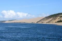 Γαλλία, Aquitaine, αμμόλοφος Pilat στοκ εικόνες