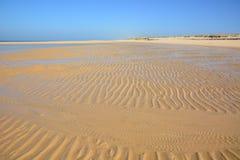 Γαλλία, Aquitaine, κουνάβι ΚΑΠ, παραλία at low tide στοκ φωτογραφίες