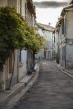 Γαλλία, Arles, η οδός στην παλαιά πόλη Στοκ Εικόνα