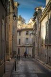 Γαλλία, Arles, η οδός στην παλαιά πόλη Στοκ εικόνες με δικαίωμα ελεύθερης χρήσης