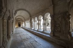 Γαλλία, Arles, το μοναστήρι του καθεδρικού ναού Στοκ φωτογραφίες με δικαίωμα ελεύθερης χρήσης
