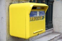 Γαλλία - La Poste Στοκ Εικόνες