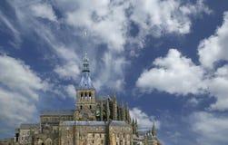 Γαλλία Michel mont Νορμανδία Άγιος Στοκ φωτογραφία με δικαίωμα ελεύθερης χρήσης