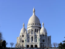 Γαλλία monmartre Παρίσι Στοκ εικόνες με δικαίωμα ελεύθερης χρήσης