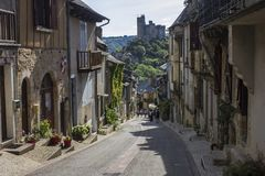 Γαλλία najac στοκ φωτογραφία