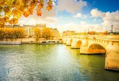 Γαλλία neuf Παρίσι pont Στοκ εικόνες με δικαίωμα ελεύθερης χρήσης