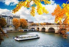 Γαλλία neuf Παρίσι pont Στοκ Εικόνες